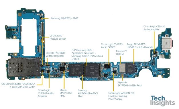 SamsungS10_SM-G975F_2E-Mainboard-Marked